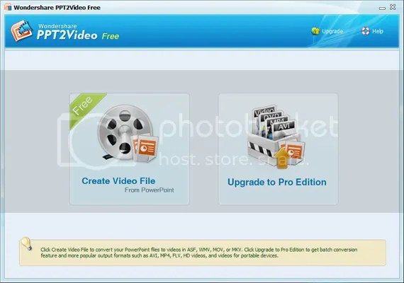Download Wondershare PPT2Video Free