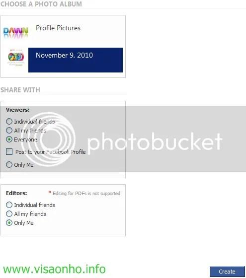 Chuyển album ảnh trên Facebook của bạn sang bài trình diễn PowerPoint