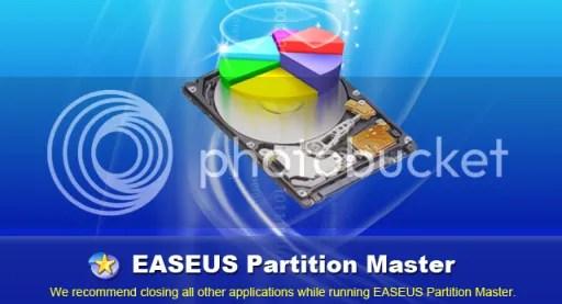 Sử dụng EASEUS Partition Master Professional 6.1.1 miễn phí
