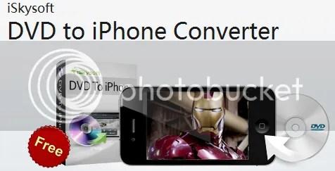 Nhận iSkysoft DVD to iPhone Converter với bản quyền miễn phí