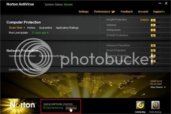 Download Norton Antivirus 2011 với key bản quyền miễn phí 6 tháng
