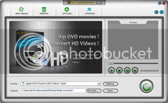 PCHand Media Converter Free
