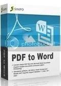 Download Simpo PDF to Word với bản quyền miễn phí