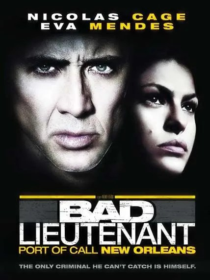 The Bad Lieutenant Port of Call New Orleans DVDRip suspence police nicolas cage mystery murder espionage drugs