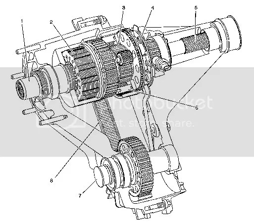 Np205 Transfer Case Diagram