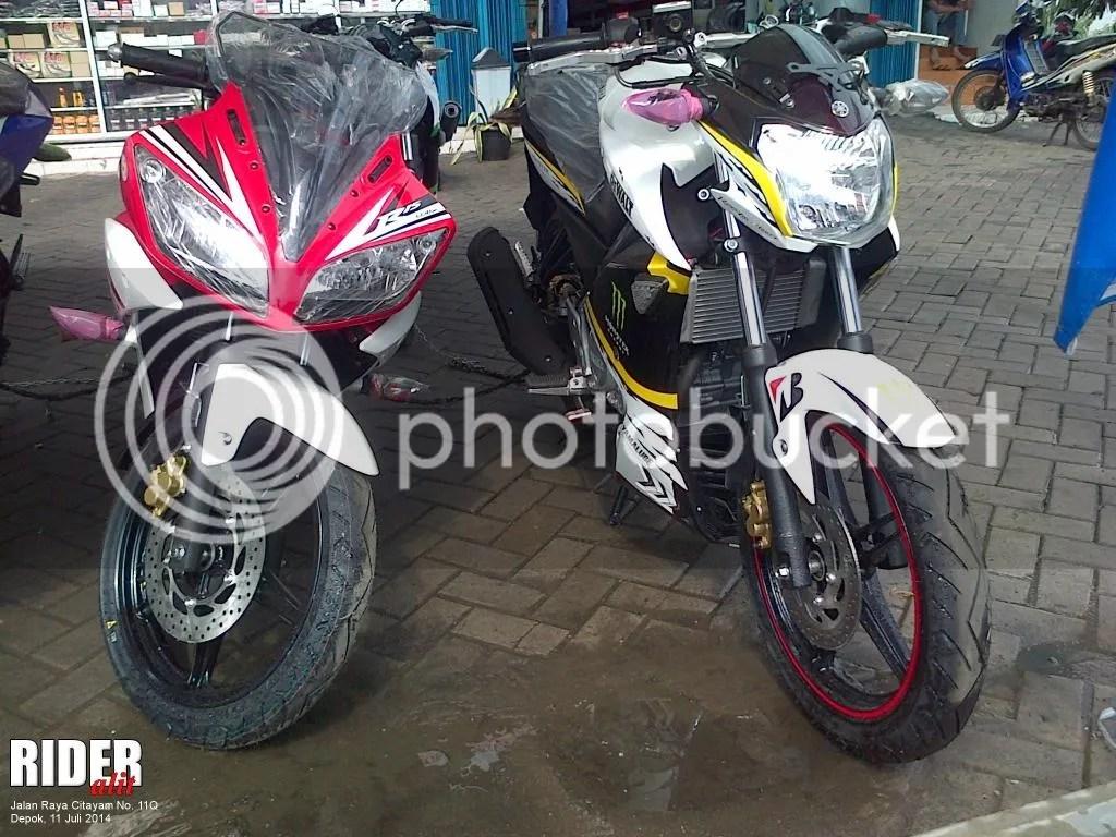 Yamaha R15 dan New Vixion
