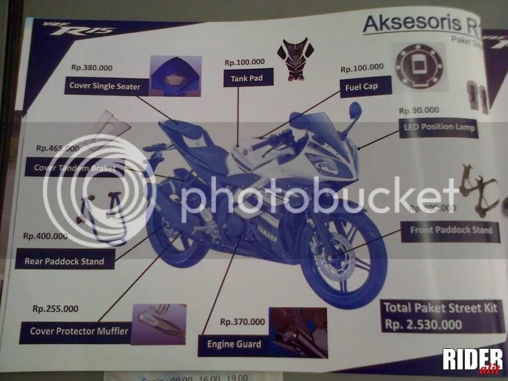 Street Kit Yamaha R15