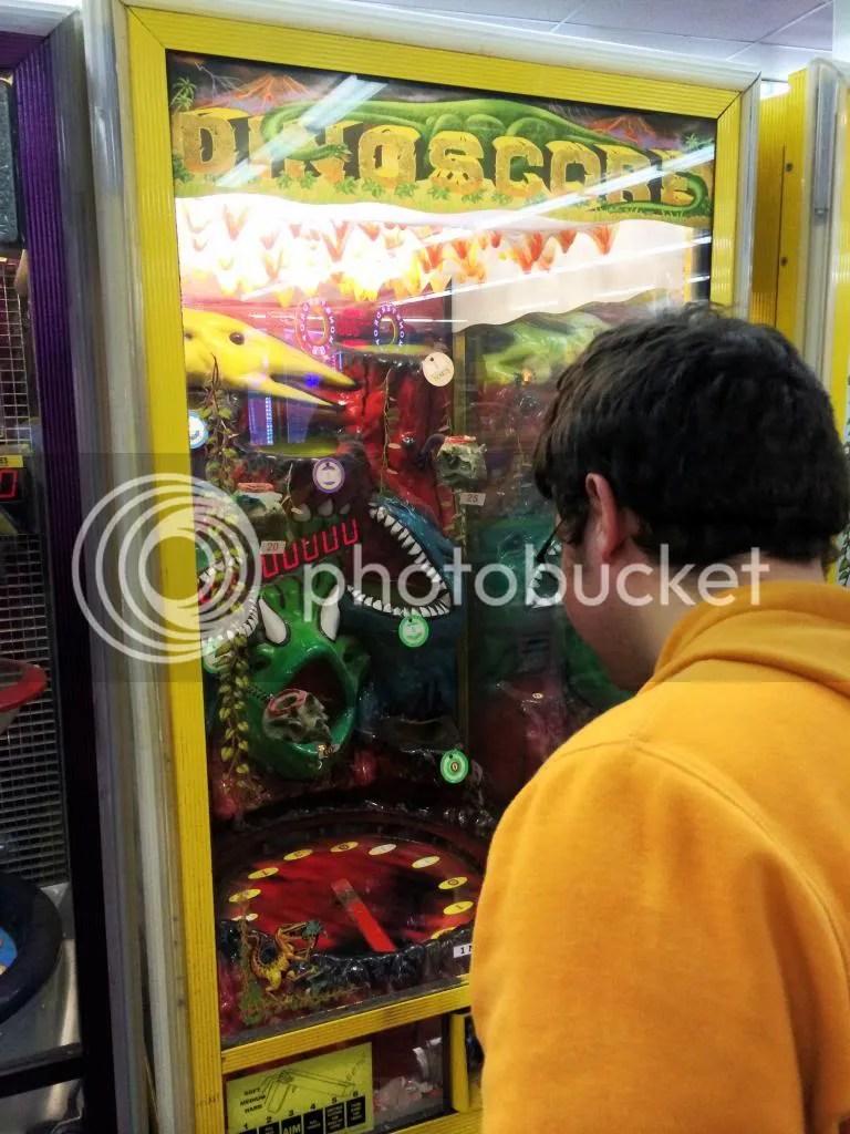 Dinoscore, Arcade
