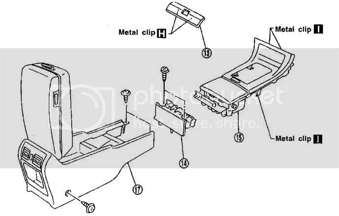 Service manual [Remove Ash Tray In A 2012 Nissan Altima