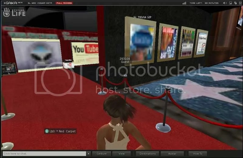 Second Life Browser Based
