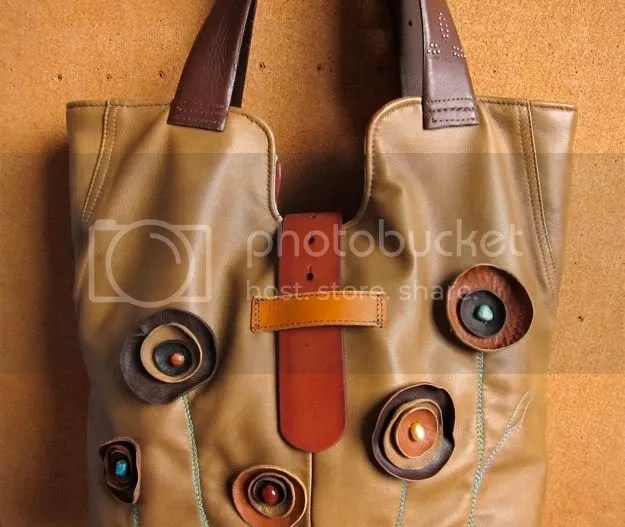 waterstone handbags lori plyler recycled leather