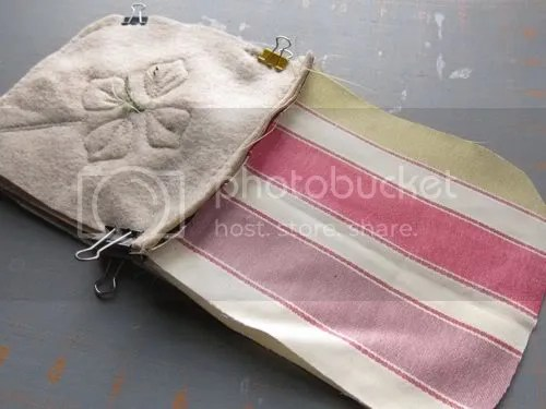 studio waterstone tutorial making an eco-friendly zippered pouch