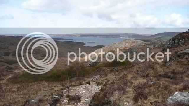 Gairloch in the distance