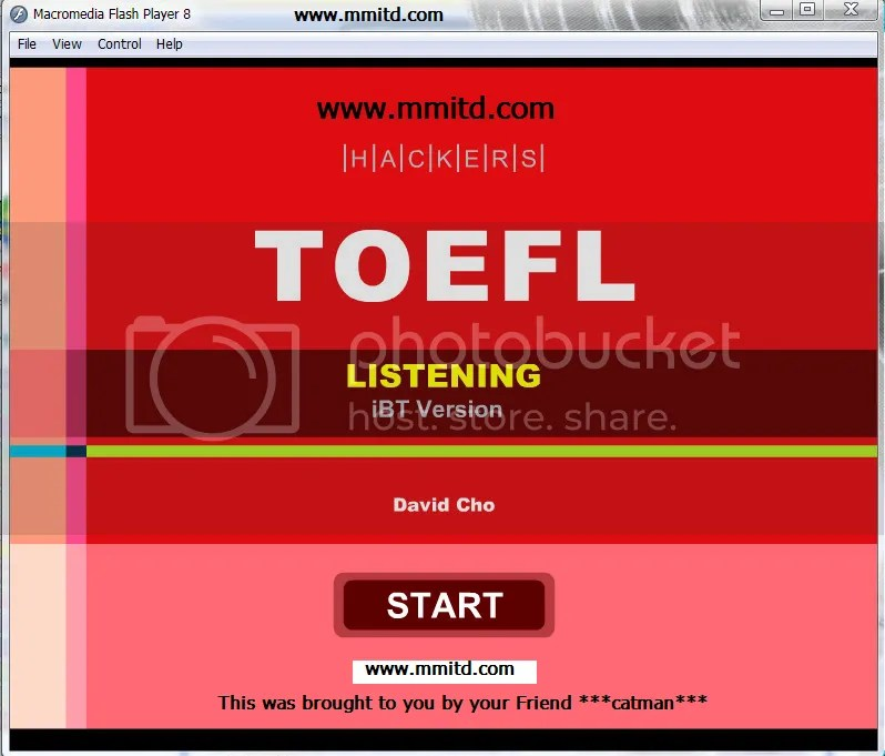 Listening Hackers For Toefl IBT uploaded by catman
