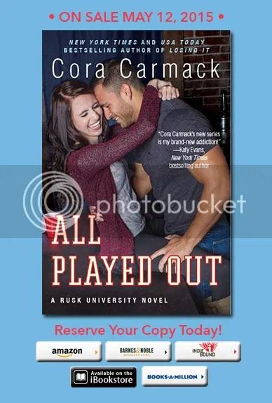 cora carmack losing it