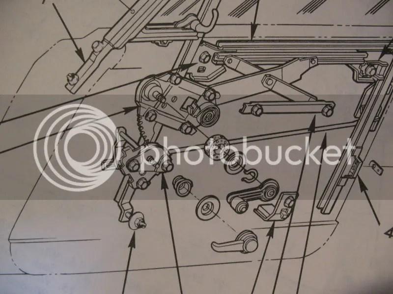 1966 Chevy Nova Window Diagram