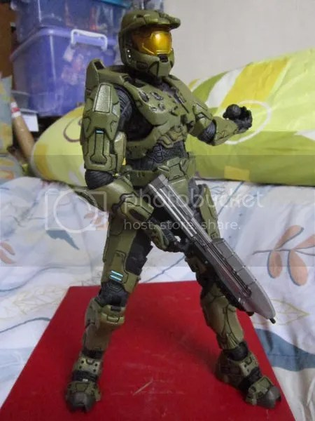 Halo Microsoft Master Chief Spartan trooper Giant size 12 inch