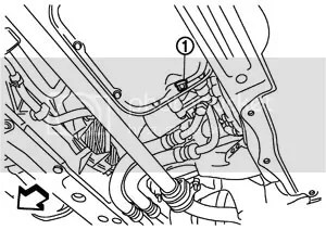 Remove The Drain Plug And Then Oil Filter Checking Oil