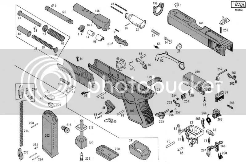 Glock Parts Diagram Photo, Glock, Free Engine Image For