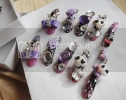 3d kawaii pastel purple long emo