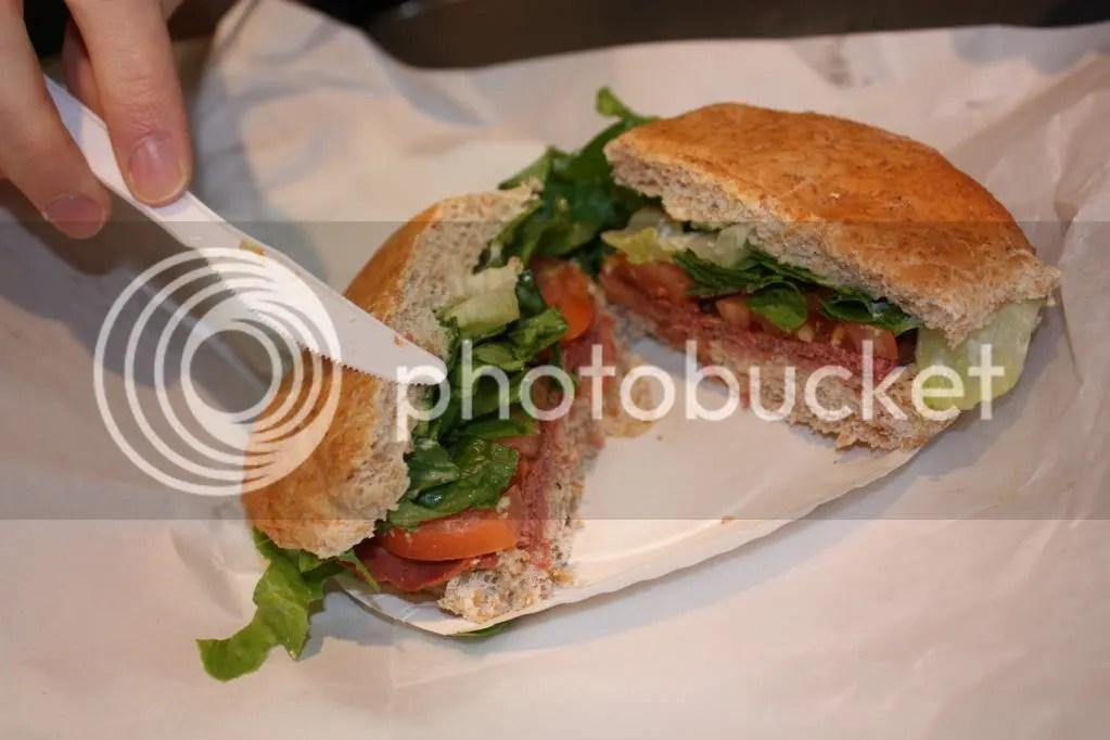 Veggie Corned Beef Sandwich