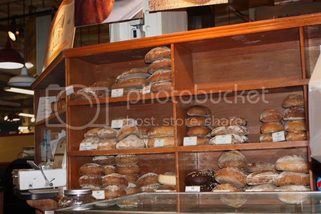 Loaves of bread at Metropolitan Bakery