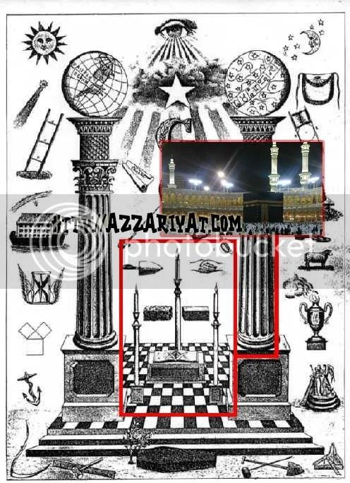 ka'bah dan illuminati