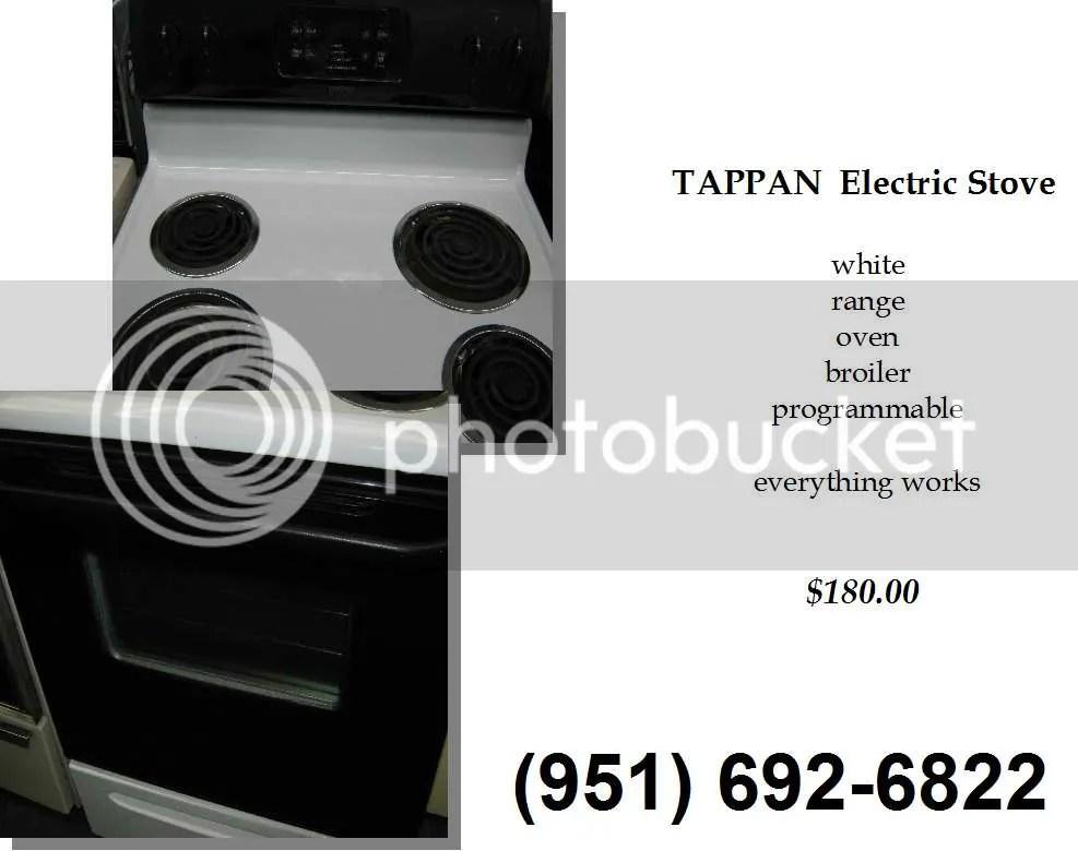 tappan stove price