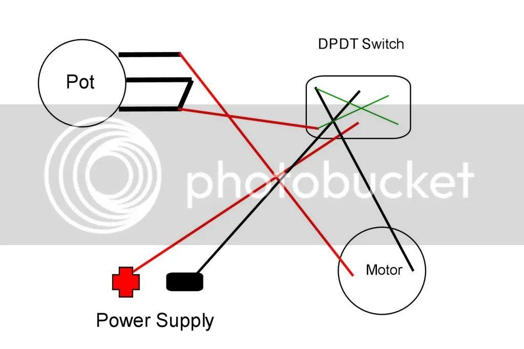 dpdt switch wiring diagram reverse polarity