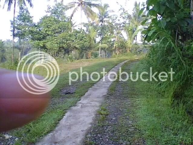 Jalan di Nanggulan, Kulon Progo
