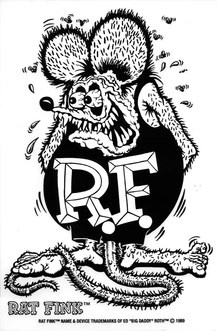 Rat Fink Sticker 12
