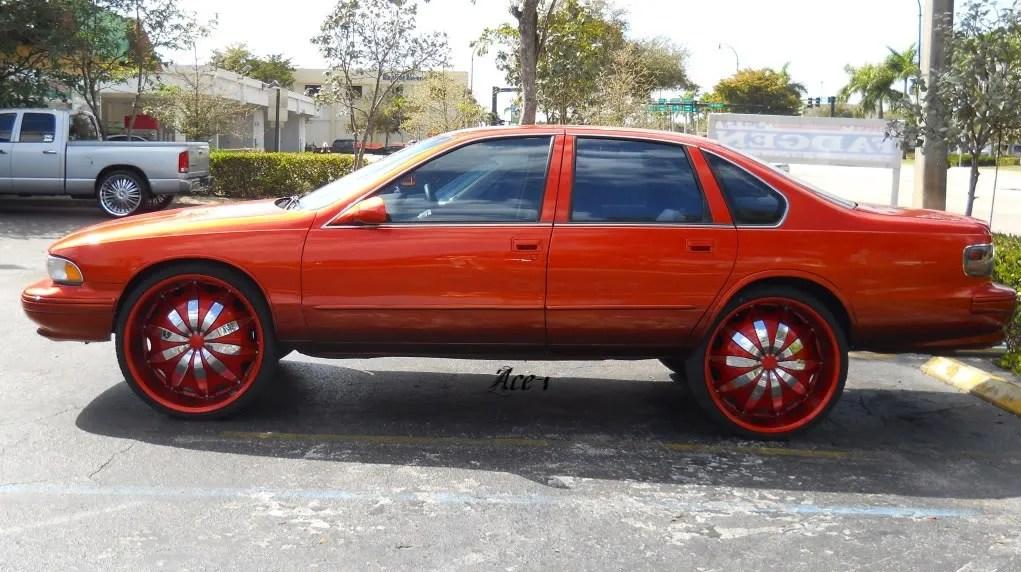Underground Rim King Chevy Impala On 26s Ddfg Official Website