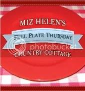 Miz Helen's Country Cottage Full Plate Thursday