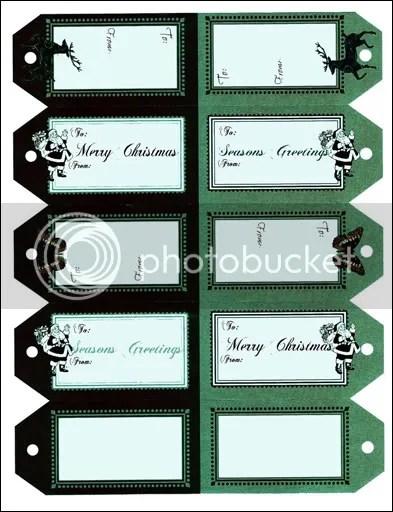 jdGONEMAD.net - Free Christmas Gift Tags