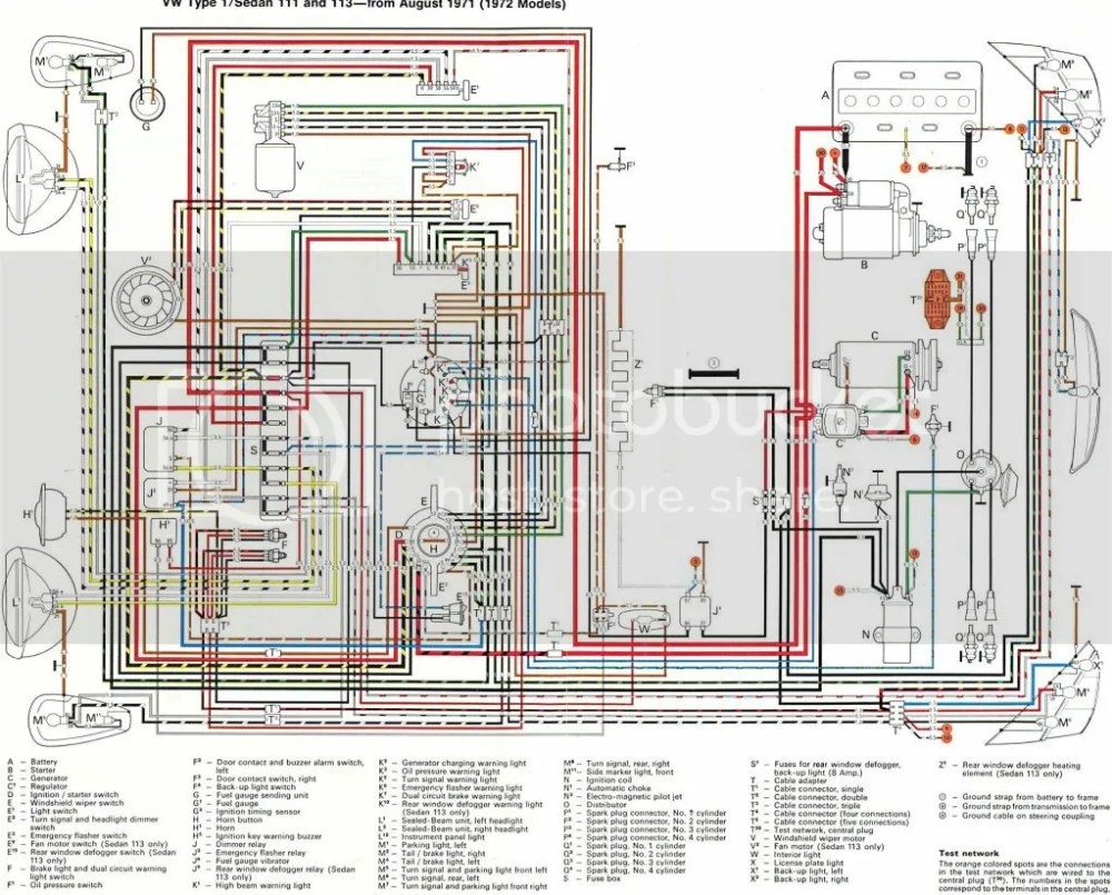 medium resolution of 1972 vw super beetle wiring diagram schematic diagrams rh ogmconsulting co 1972 vw beetle fuse box