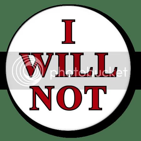 I Will Not, Iii Photo By Boceander  Photobucket