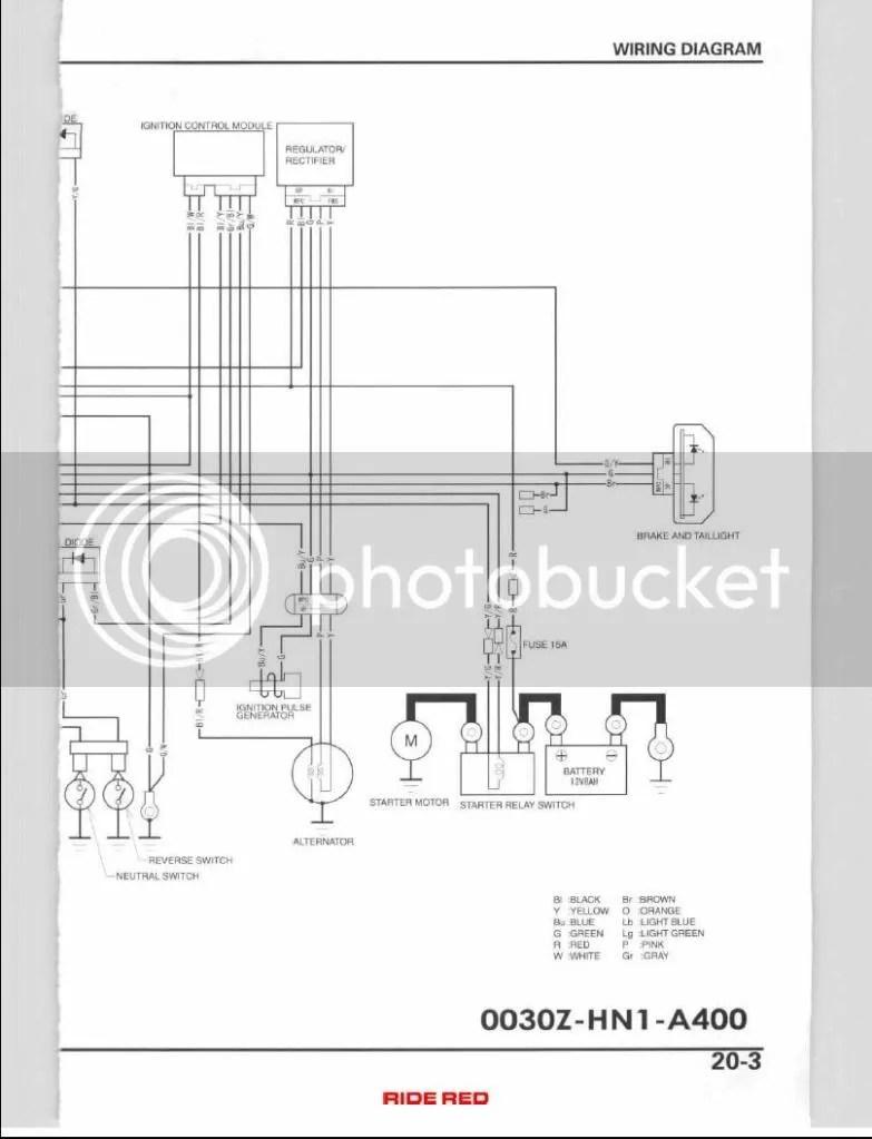 06 400ex Wiring Diagram | Wiring Diagram on