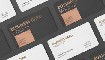 Square round corner business card psd mockups 2018 heroturko business card mockup round corner 583232 reheart Choice Image