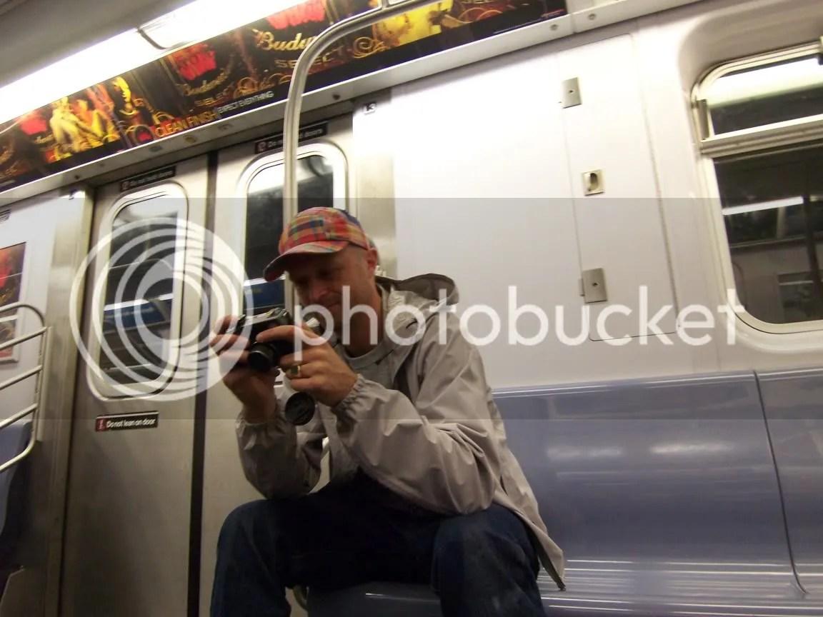 reid on the train