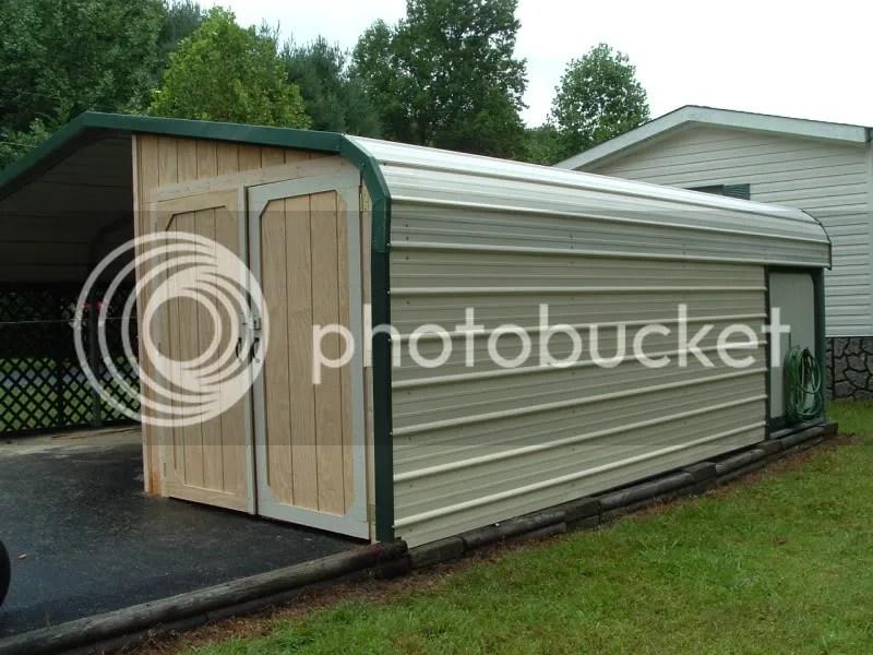 Enclosing A Metal Carport Questions Doityourself Com