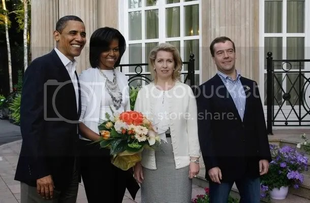 Image result for dmitry medvedev and obama