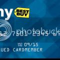 My best buy card 2000