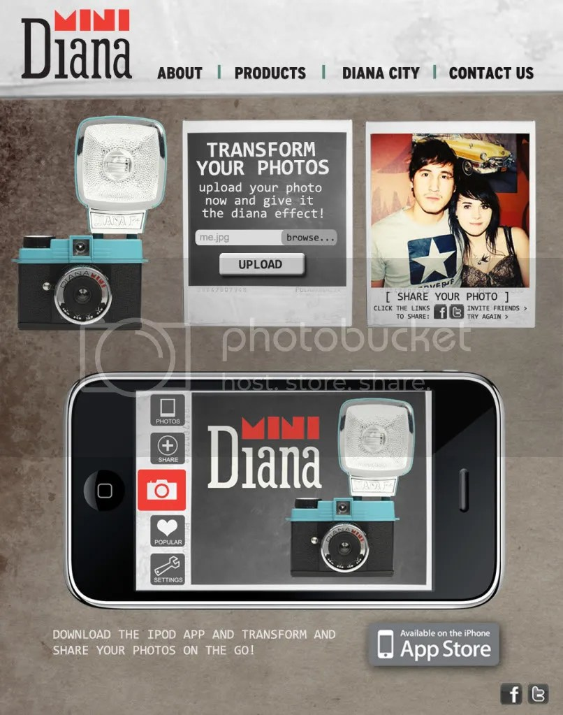 Diana Website Design - Home