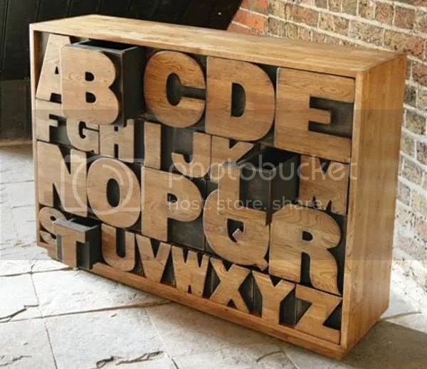 Kent & London's Hand-crafted Alphabet Drawers