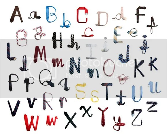 Tie-pography By Uppercase Magazine