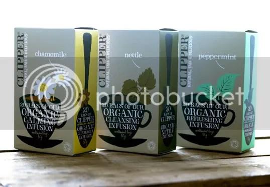 Clipper Tea Packaging