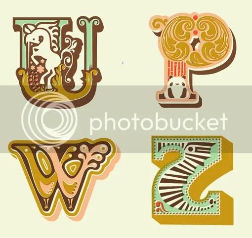 Jeannie and Jewell Alphabet