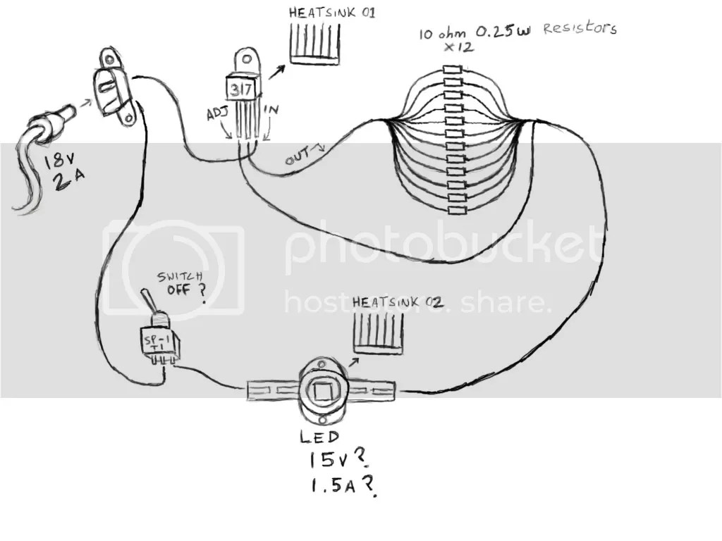 Led Projector Circuit Diagram Version 01 Pictures, Images