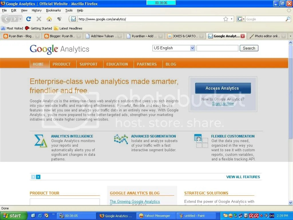 Menginstal google analytics