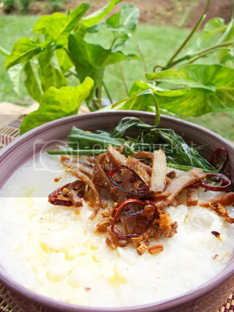 beef stock congee  a kitchen in uganda